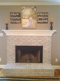 white wash brick grey walls