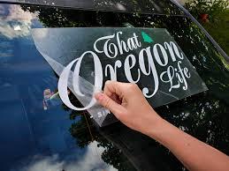 That Oregon Life Vinyl Decal That Oregon Life