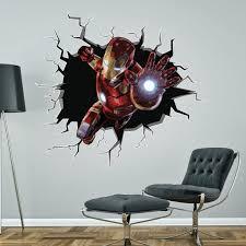 Iron Man Wall Sticker Decal Etsy