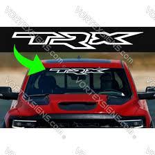 Sale Trx Windshield Decals Stickers For Dodge Ram