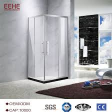 china produced3 sided shower enclosure