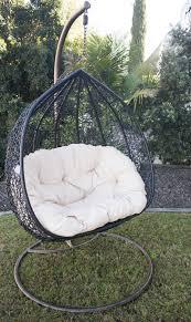 hanging egg chair black hanging