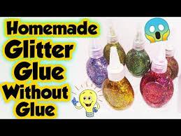diy glitter glue how to make glitter