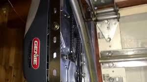 side mount custom garage door opener
