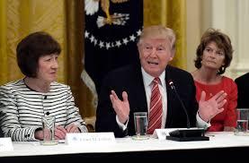 Trump backs reelection of Sen. Susan Collins | Lewiston Sun Journal