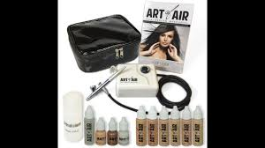art of air airbrush makeup kit unboxing