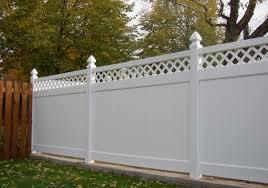 Vinyl Mart Direct Lattice Top Privacy Vinyl Fence Springfield