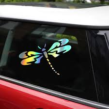 Tancredy Dragonfly Car Sticker And Decals Car Sticker Car Styling Decoration Door Window Vinyl Stickers Car Accessories Car Stickers Aliexpress