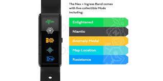Nex + Ingress Band: Fitbit style Pokemon Go tracker to hit the ...