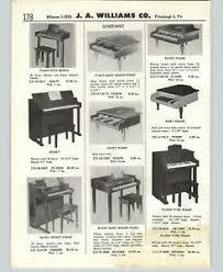 1958 paper ad schoenhut toy piano baby