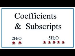 the difference between coefficients and