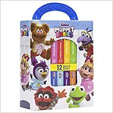 Amazon Com Disney Junior Muppet Babies My First Library Board Book Block 12 Book Set Pi Kids 9781503751880 Editors Of Phoenix International Publications Editors Of Phoenix International Publications Editors Of Phoenix International