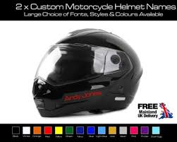 2 X Personalised Motorcycle Helmet Name Decal Motorcycle Racing Decals Free P P Archives Statelegals Staradvertiser Com