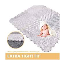 Mua Tcbunny Baby Play Mat With Fence Extra Large 5 X 6 Feet Tren Amazon Mỹ Chinh Hang 2020 Fado