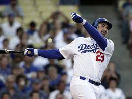 Dodger's Adrian Gonzalez season over due to back injury ...