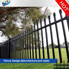China Hot Sales Philippines Metal Garden Steel Tube Fence Fencing Panels For Sale China Metal Garden Fence And Garden Fence Price