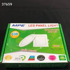 Đèn led panel tròn âm 6w a/s vàng RPL6S/V MPE