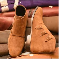 brown mens casual dress boots stylish