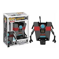 Funko 7477a A A Character Decal Sticker Borderlands Claptrap Black On Onbuy