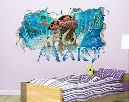 Moana Wall Decal Etsy