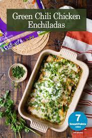 green chili en enchiladas