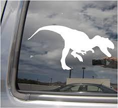 Tyrannosaurus Rex Vinyl Decal Sticker Car Window Wall Bumper Dinosaur T Rex Atsassociates Net