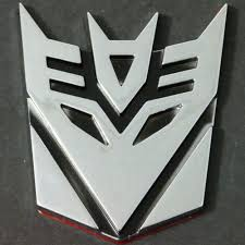 3d Sticker On Car Transformer Decepticon Buy Vinyl Decals For Car Or Interior Decal Factory Stickerpro Different Colors And Sizes Is Avalable Free World Wide Delivery