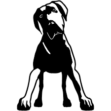10 5 15cm Great Dane Dog Car Stickers Creative Vinyl Decal Car Styling Bumper Accessories Black Silver S1 0876 Sticker Earrings Stickers Randomsticker Dispenser Aliexpress