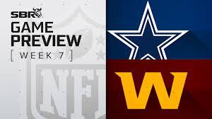Cowboys vs. Washington: NFL Week 7 ...