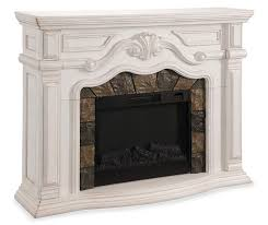 62 grand white electric fireplace at