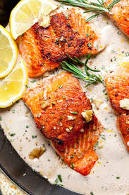 Pan Seared Salmon with Rosemary-Walnut ...