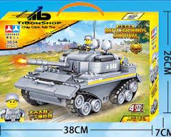 ĐỒ CHƠI XẾP HÌNH LEGO XE TĂNG ĐẶC CHỦNG 372 MẢNH GHÉP – NO.5634 – SIÊU ĐẸP  – Ti Bon Shop