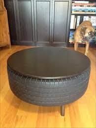 tire furniture tyres recycle coffee table