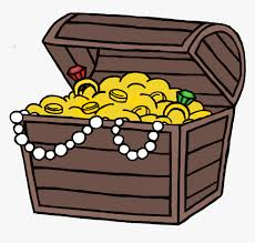 Game Chest Color - Treasure Chest Cartoon Drawing, HD Png Download ,  Transparent Png Image - PNGitem