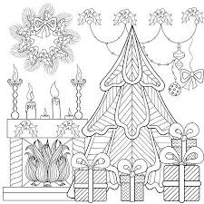 Kerst Interieur Vectoren Illustraties En Clipart 123rf