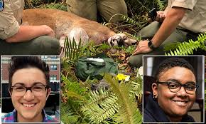 PICTURED: The 32-year-old biker who was killed by a starving cougar | Daily  Mail Online