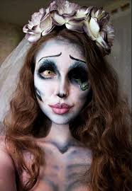 bride makeup make emily corpse bride