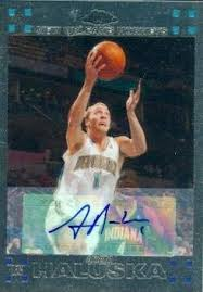 Adam Haluska autographed Basketball Card (Iowa) 2008 Topps Rookie #127 at  Amazon's Sports Collectibles Store