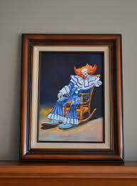 Bozo In Retirement Oil Painting on Canvas Signed by Ada   Etsy   Canvas  painting, Painting, Oil painting on canvas