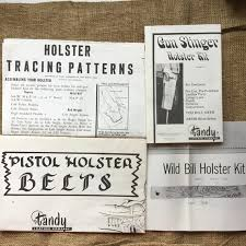 vintage tandy leather instructions for