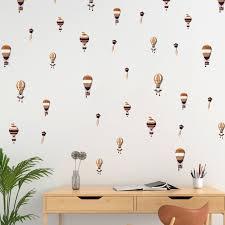 Harriet Bee 15 Piece Retro Hot Air Balloons Wall Decal Set Wayfair