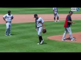 Trevor Bauer Throws Ball Over The Fence After Getting Pulled Youtube