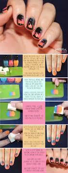 subsute for makeup sponge nail art