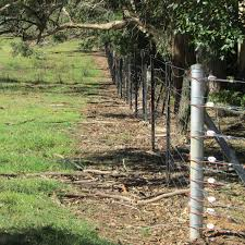 Gallagher Exclusion Fence Protects Farm Surrounded By National Park From Deer