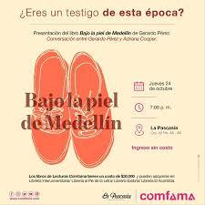 """Presentación del libro """"Bajo la piel de Medellín"""""""