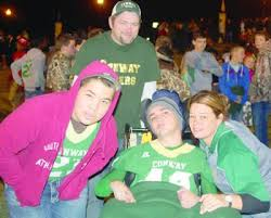 Injured Conway football player comes home for homecoming ...