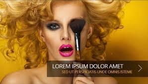 makeup artists templates