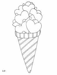 Kolorowanka Love lody | Kolorowanki dla dzieci do druku