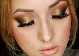 prom makeup for brown eyes