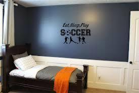 Soccer Ball Sports Teen Kids Boys Girls Room Wall Home Decor Mural Vinyl Decal For Sale Online